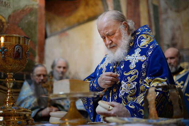 Патриарх Кирилл выразил соболезнования Зеленскому в связи с крушением Ан-26