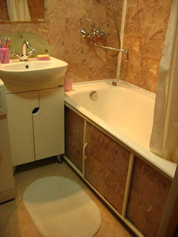 Туалет и ванна в моей хрущёвке