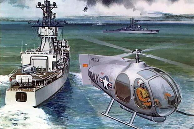 Увеличенная версия Model-202 Honcho-2 для Флота США, 1974 год - Нетрадиционная любовь Бруно Наглера | Warspot.ru