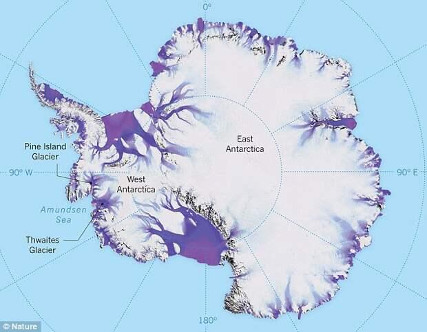 ледник, Антарктида, глобальное потепление