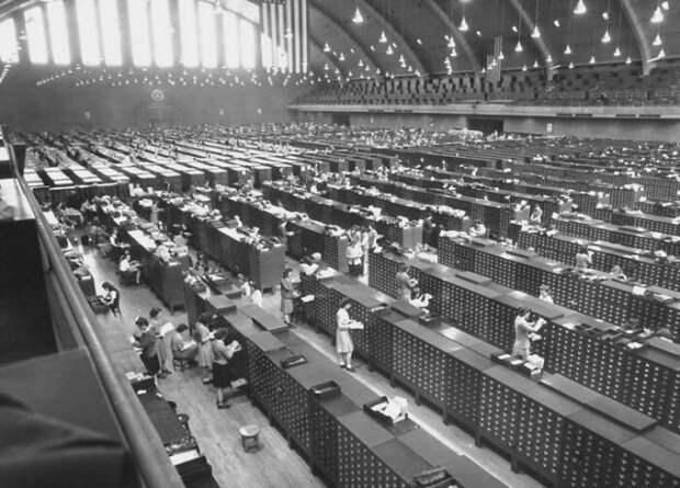 Библиотека отпечатков пальцев, 1944