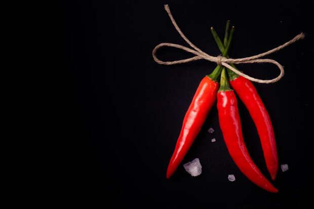 Обнаружено новое удивительное свойство перца чили