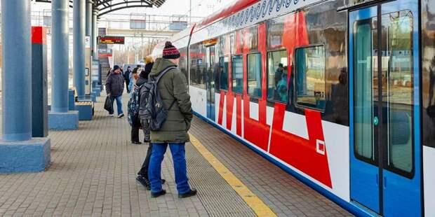 Пассажиры по достоинству оценили комфорт МЦД в новогоднюю ночь. Фото: mos.ru