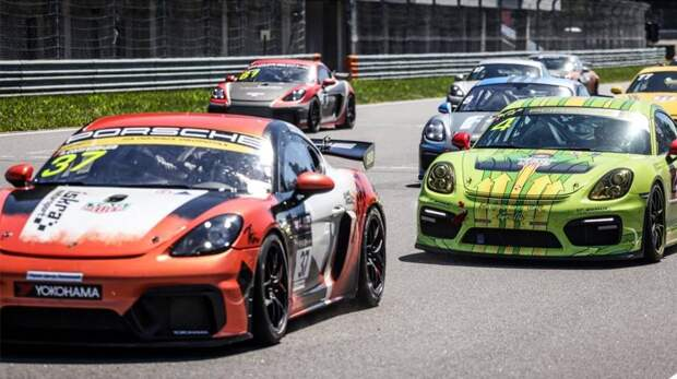 Порше Центр Ленинский проверил гонщиков на прочность на Porsche Sport Challenge