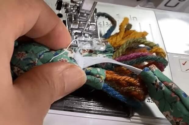 Оригинальное дополнение к гардеробу из остатков ткани: быстро, стильно и со вкусом