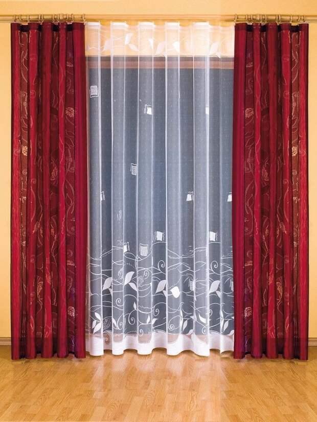 Одежка для окошка: несколько интересных идей дизайна штор