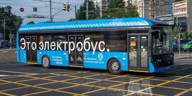 На маршрут т47 вышли электробусы московской сборки