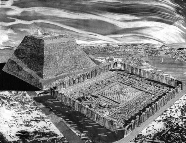 Египетский лабиринт. Рис. Тони Пекораро
