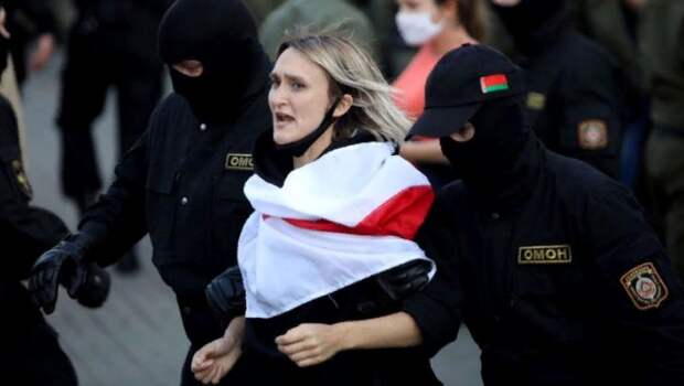 Методика протестов в Белоруссии – фундамент для конструкции протестов в России. Юлия Витязева
