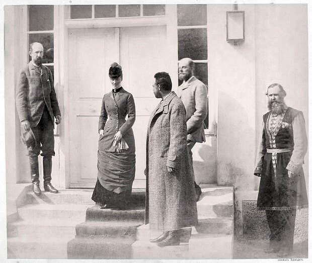 Дореволюционная Россия на фотографиях. Александр III на охоте