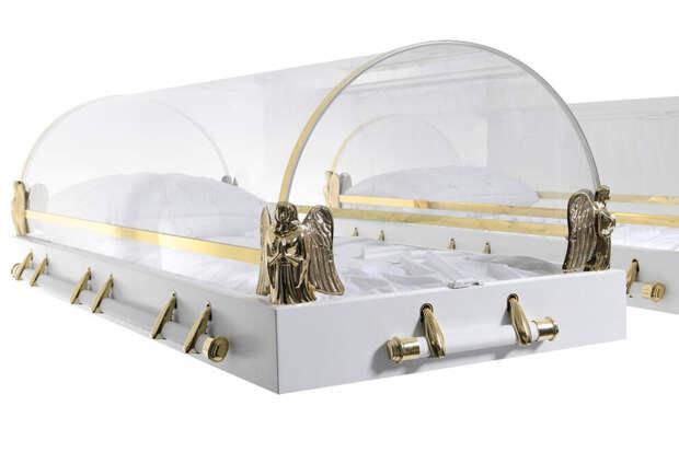Умерших от COVID-19 будут хоронить в гробах с прозрачными крышками