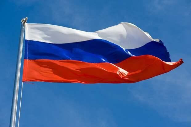Флагшток, Россия, Государственный Флаг