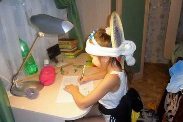 Домашняя работа в исполнении детей и 10 самых смешных фотосвидетельств этого