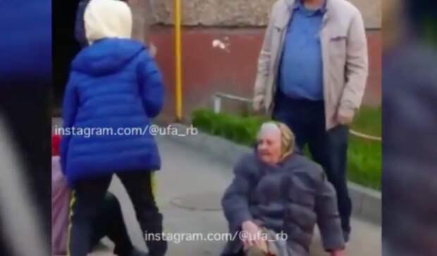 Пьяный уфимец напал у подъезда на двух бабушек ветеранов войны и труда