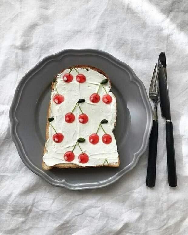 Фруктовое ягодные сэндвичи