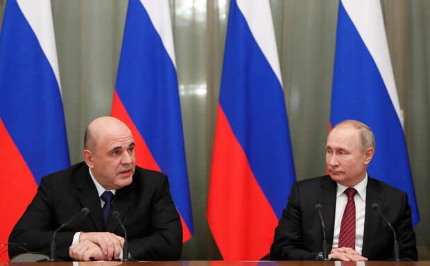 Путин посещает только успешные регионы России, в отличие от Мишустина