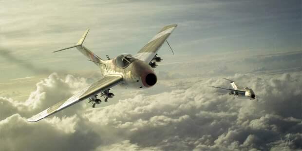 Истребитель Та.183 очень любят изображать суправляемыми ракетами воздух-воздух Х-4. Вот только никаких подтверждений, чтоони могли применяться соскоростных реактивных истребителей, нет