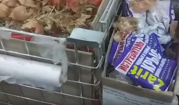 В Томске прокуратура проверит магазин из-за соседства лука со средством от грызунов