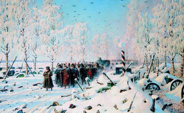 Наполеон о русской кампании 1812 года