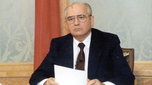 Горбачев президент СССР