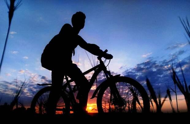 В ту ночь я проезжал мимо кладбища. Бежал оттуда, бросив велосипед.