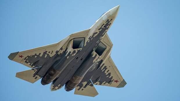 В небе над США появились российские Су-57