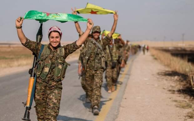 Сирийские курды оказались между «двух огней»