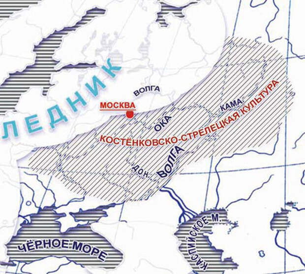 Воронежское село Костенки: родина первых европейцев