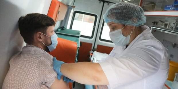 В столице продолжается прививочная кампания против гриппа / Фото: mos.ru