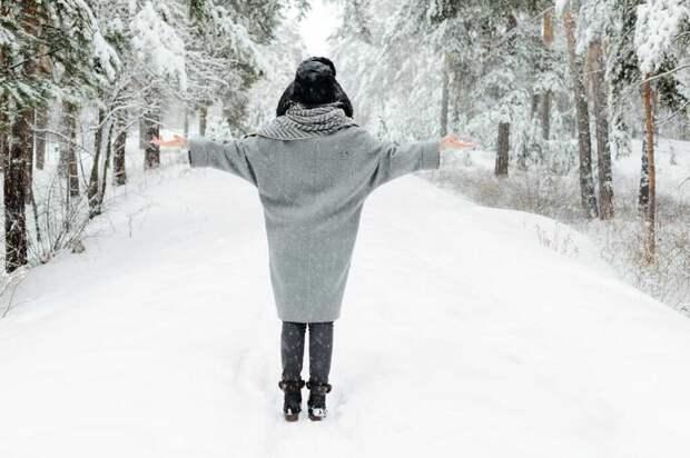 зима. одежда