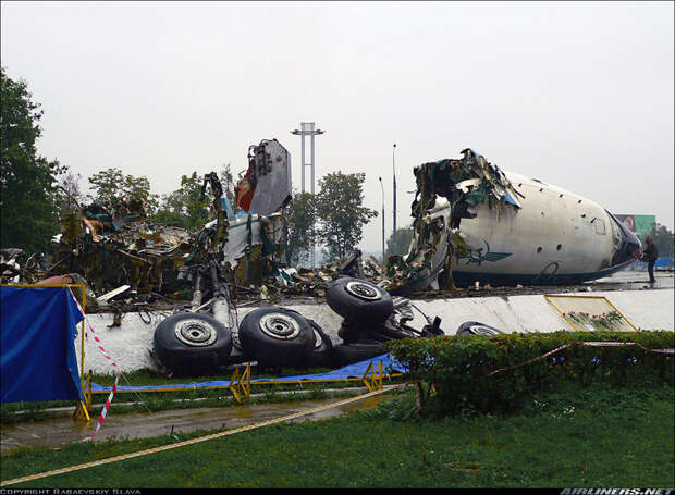 Ту-114: уничтоженные с 1990 и сохранившиеся