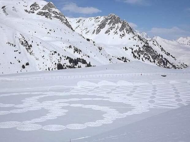 Снежные картины Саймона Бека