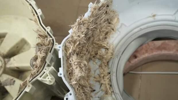 Никогда не стирайте это в машинке, чтобы её не пришлось потом ремонтировать