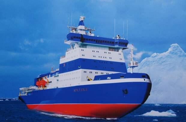 «Финишная прямая»: в России завершается строительство ледокола «Арктика»