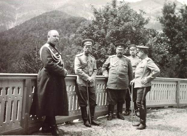 Какие телохранители были у Николая II