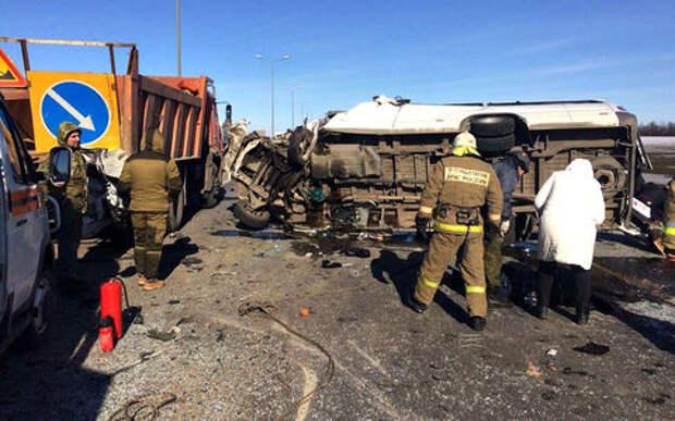На трассе «Дон» в аварии погибли 6 человек