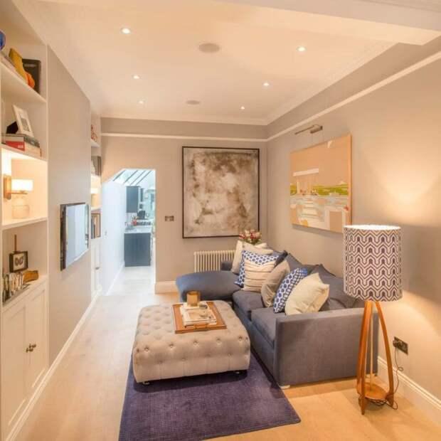 Идей дизайна гостиной для максимального увеличения вашего пространства