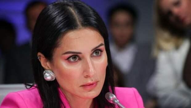 Канделаки призналась, чем ее покорил молодой муж
