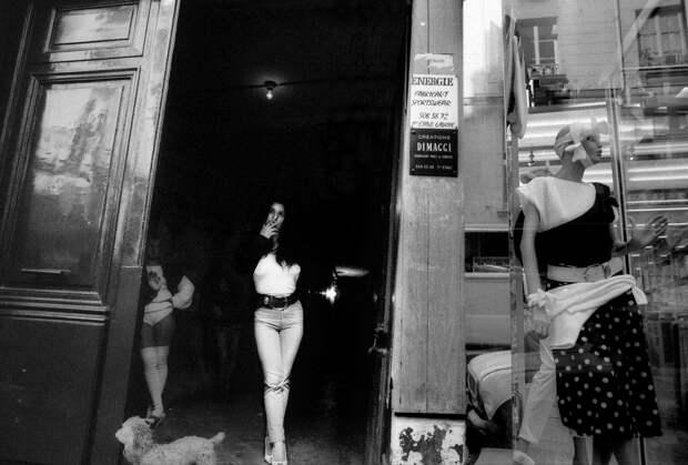 Труженицы секс-индустрии с улицы Сен-Дени. Фотограф Массимо Сормонта 63
