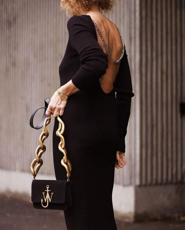 «Цепная реакция»: хотите быть элегантной – наденьте массивную цепочку