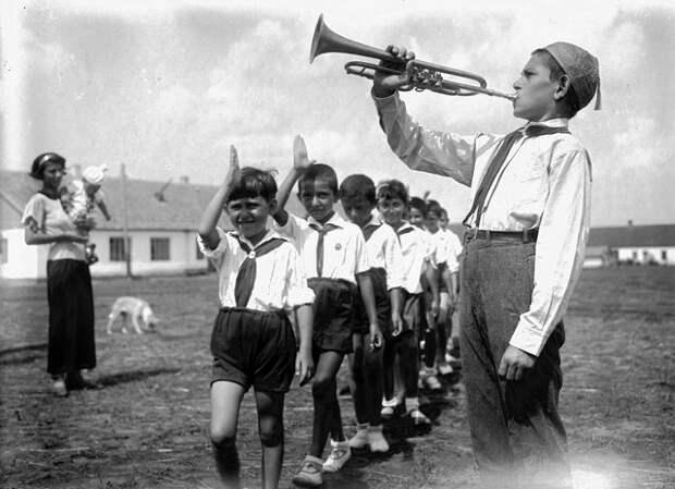 Советские пионеры начале 1920-х .