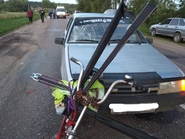 Сын погибшего в аварии велосипедиста пробежал марафон ради отца