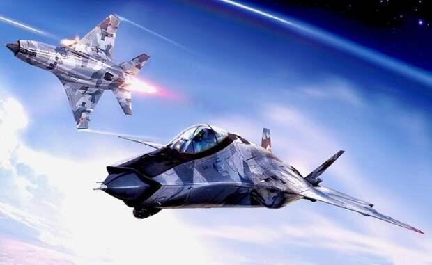 На фото: новейший российский дальний перехватчик МиГ-41 станет самым быстрым истребителем в мире