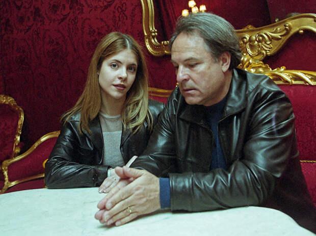 Родион Нахапетов с дочерью