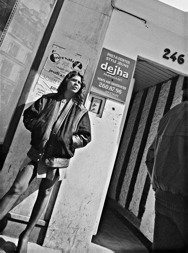 Труженицы секс-индустрии с улицы Сен-Дени. Фотограф Массимо Сормонта 32