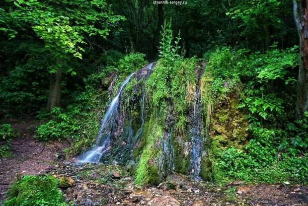 Одно из чудес – водопад Радужный