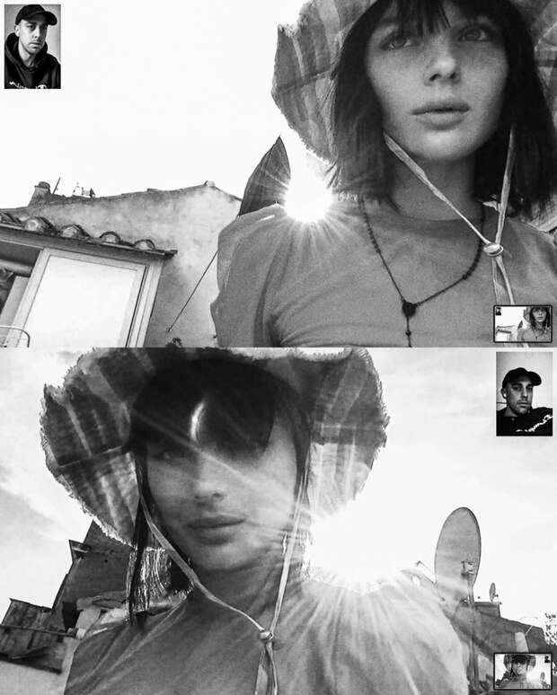 Удаленная фотосессия Алессио Альби на веб-камеру во время карантина