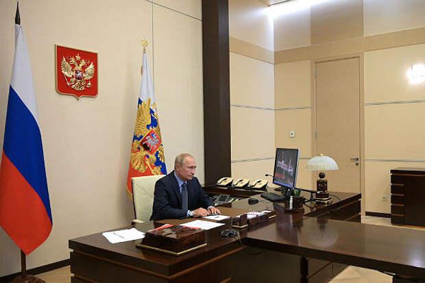 Путин назвал национальные цели развития России на 10 лет