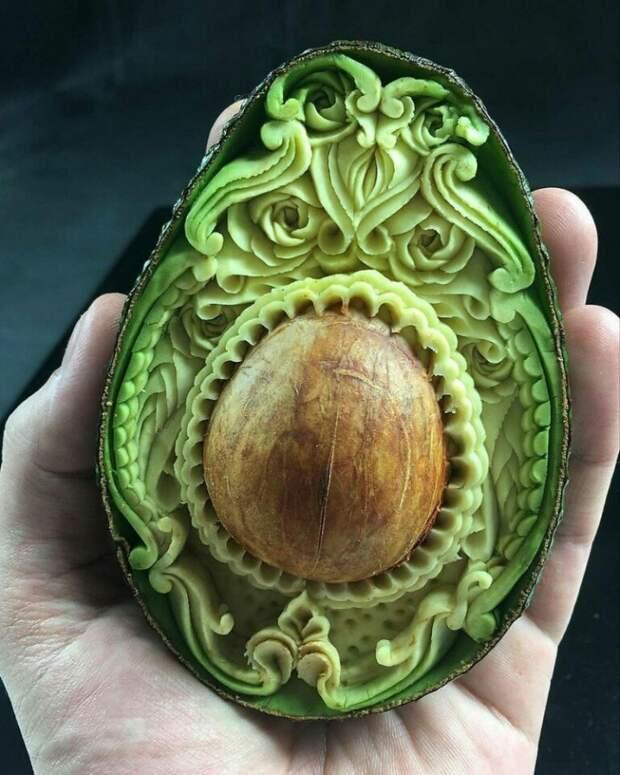 Карвинг... Авокадо
