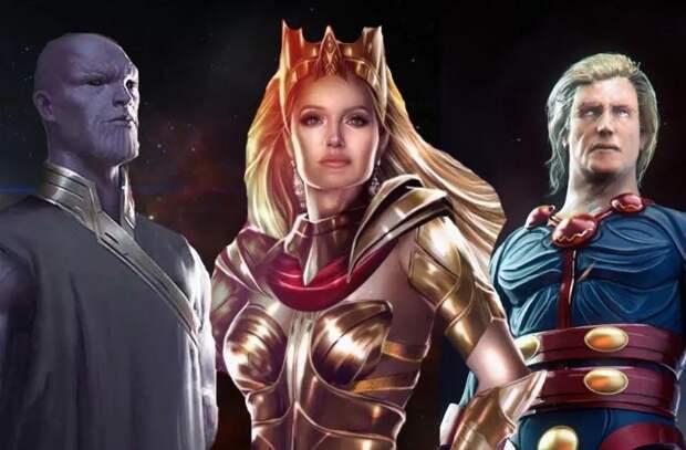 Marvel впервые показала кадры фильма «Вечные» с Анджелиной Джоли